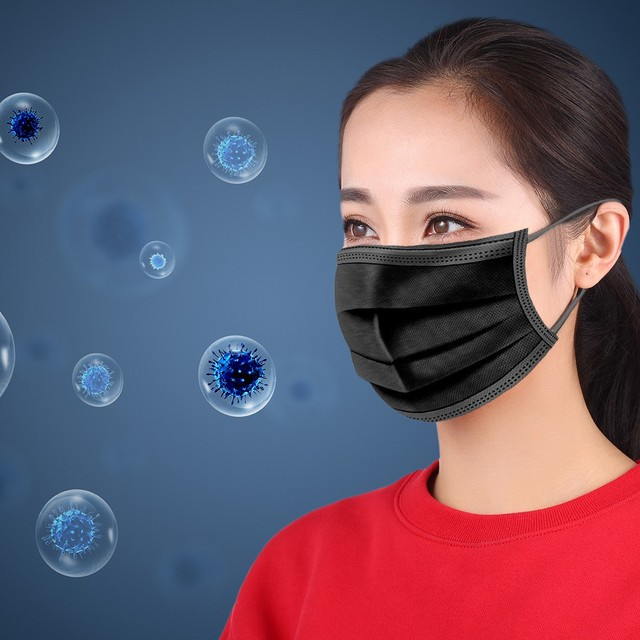 Disposable Mask Activated Carbon Unisex Protection Fabric Mouth Mask masque de protection Riding masque jetable  7.22 5