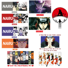 Naruto Patches Heat-Transfer Iron-On-Anime Diy Jacket Letter Applique Stripes for Clothing