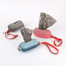 Dispenser Holder Poop-Bag Pet-Supply Puppy-Pick-Up-Bags Waste-Garbage-Box Pet-Dog Outdoor