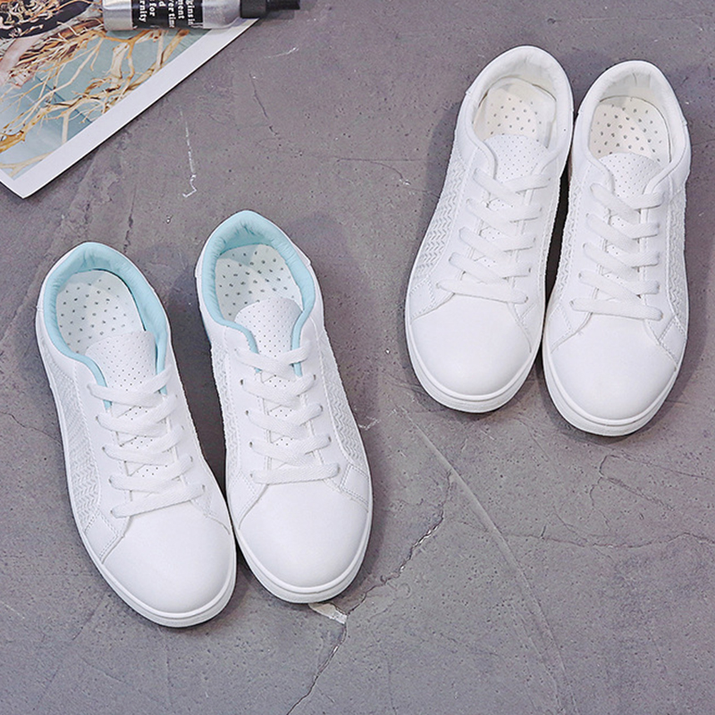 Sneakers Women Breathable Mesh Summer Autumn Women Causal Shoes Fashion White Leather Flat Walking Female Vulcanize Shoes VT1247 (1)