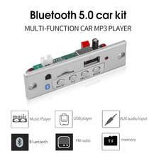 Kebidu Draadloze MP3 Speler Bluetooth5.0 MP3 Decodering Board Module Auto Usb Tf Card Slot/Usb/Fm/Afstandsbediening decodering Board Module