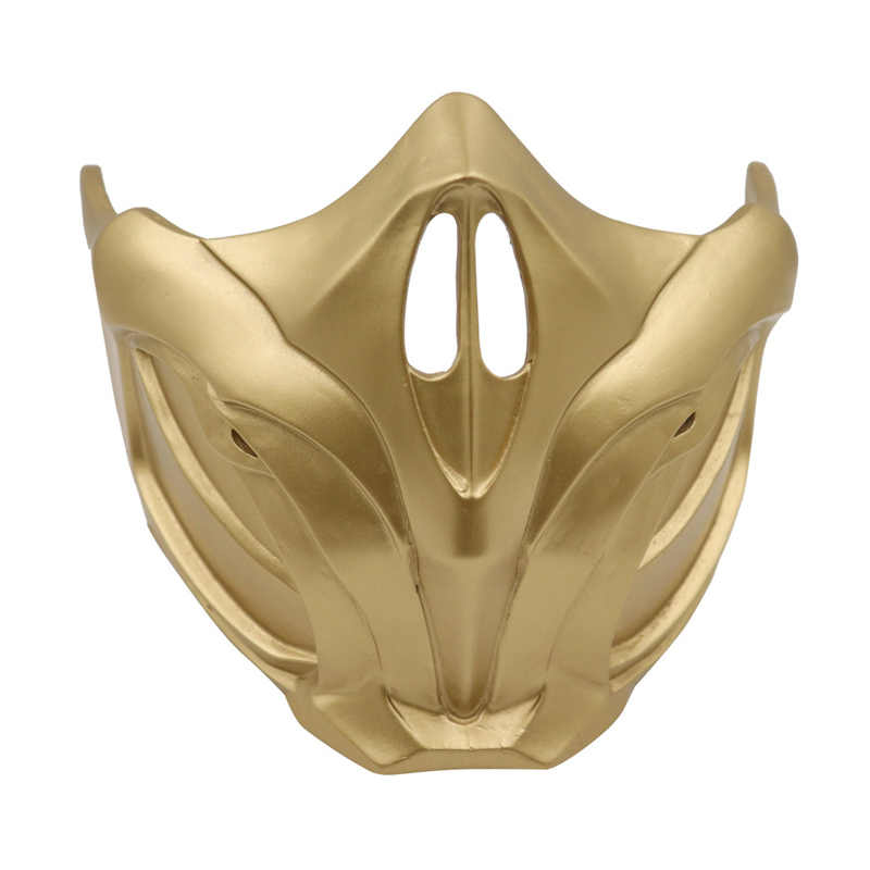 Игра mmoral Kombat 11 маска скорпиона косплей реквизит Смола унисекс аксессуары для Хэллоуина Sub-Zero маски