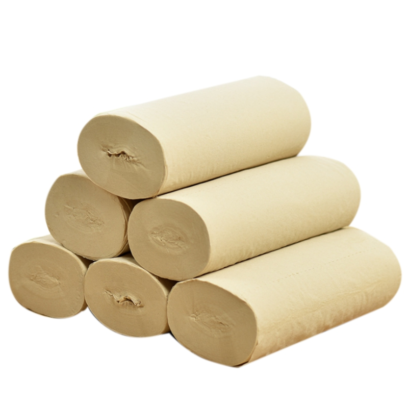 Wood Pulp Soft Household Toilet Paper Towels Household Products Bathroom Paper
