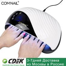 Terno uv profissional da lâmpada do prego do diodo emissor de luz para todos os tipos do gel secador de unhas refrigerando incorporado do fã 10s secagem rápida do gel de cura