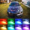 Doskonały RF zdalny Bluetooth APP wielokolorowy Ultra jasny RGB LED Angel Eyes światło do jazdy dziennej dla Alfa Romeo 159 2004-2012 reflektor