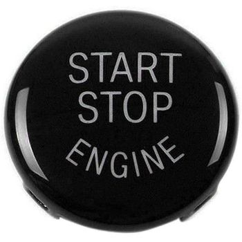 Start Stop Engine Button Push Button Ignition Switch Cover Replacement for BMW X1 X3 X5 X6 Z4 (E84, E83, E70, E71, E89) 1 3 5 Se image