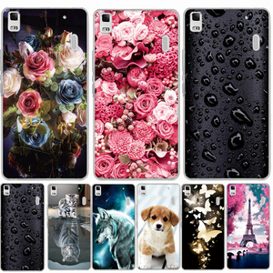 Case For Lenovo K3 NOTE A7000 Case Silicone Soft Cover Phone Case for Lenovo K3 note K50 A7000 A 7000 a7000 Lemon K50-T5 Cover(China)