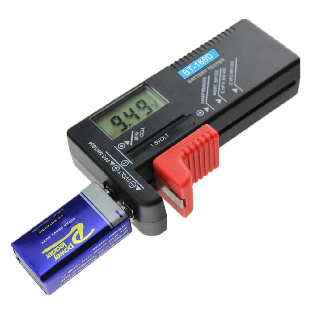 Household Battery Tester Digital General Battery BT - 168D Battery Capacity Tester Battery Tester For Testing All 9V,1,2,5,7