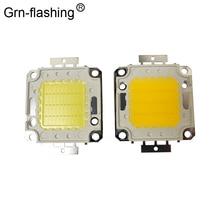 цена на High Power 10W 20W 30W 50W 100W COB Integrated LED lamp Chips Bulb Diode Spotlight For Outdoor DIY Floodlight Spot light Lawn