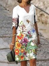 Elegant women dress loose dress ladies large sizes dress
