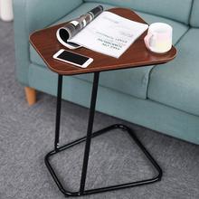 Современный угловой стол, столик для ноутбука, маленькая настольная консоль, стол для использования в гостиной, спальне, экономия пространства