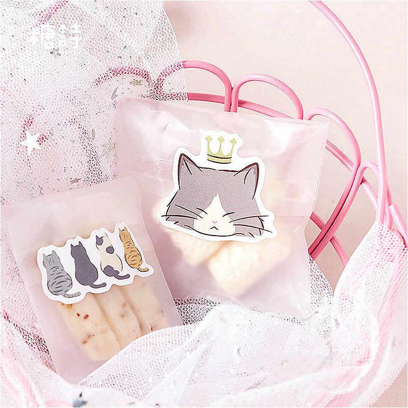 1 pacote kawaii gato diário notebook bloco de notas adesivo criativo brilho substituível adesivo papelaria presente viajante diário