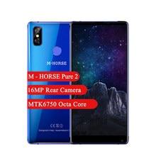 M-at saf 2 Smartphone 4GB 64GB 5.99 inç MTK6750 Octa çekirdek 16MP arka kamera 3600mAh android 7.0 cep telefonu