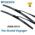 MIDOON гибридные щетки стеклоочистителя для Chrysler Grand Voyager пятого поколения 2008 2009 2010 2011 2012 2013 2014 2015