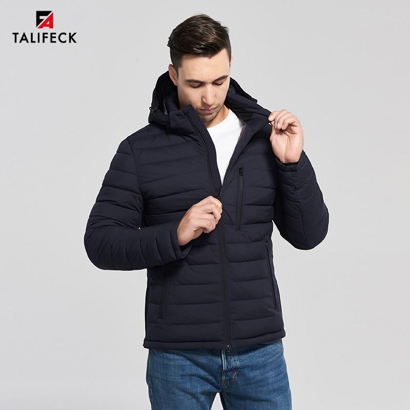 2019 New Winter Jacket Men Casual Padded Jacket Hooded Fashion Winter Coat Men Bio-based Cotton High Quality Puffer Jacket Men