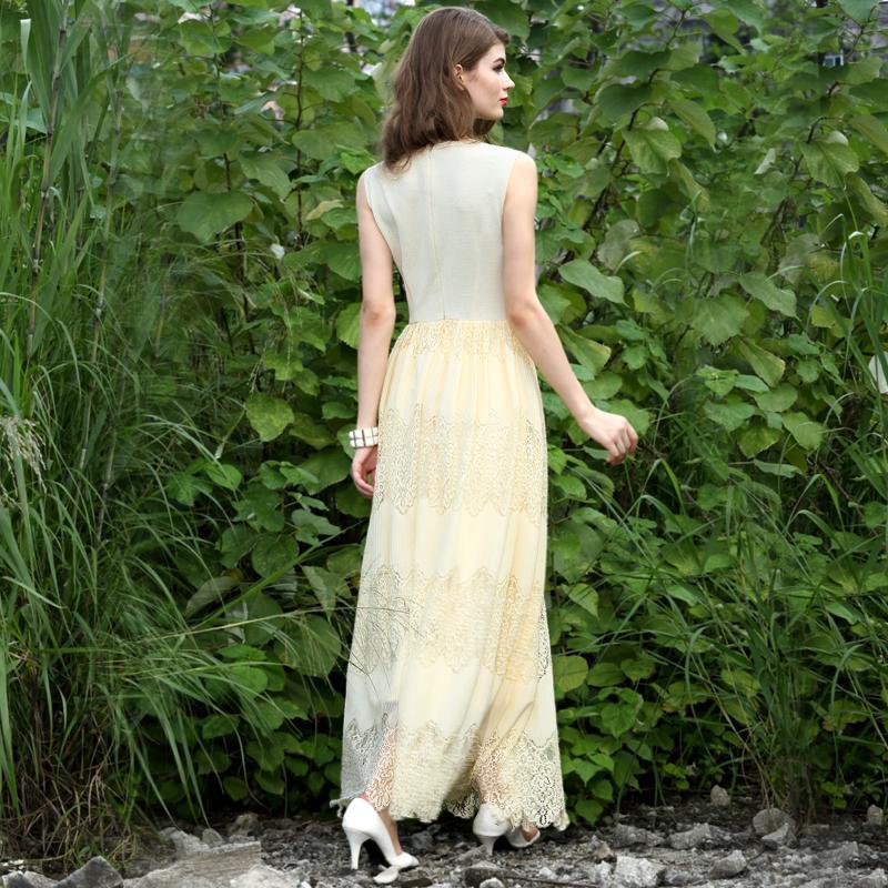 Весна и лето принцесса кружева платья - Женская одежда - Фотография 3