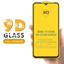 9D Curved Full Cover Screen For Xiaomi Mi 9 8 Lite Mi8 SE Tempered Protective Glass for Redmi Note 7 Pro 6