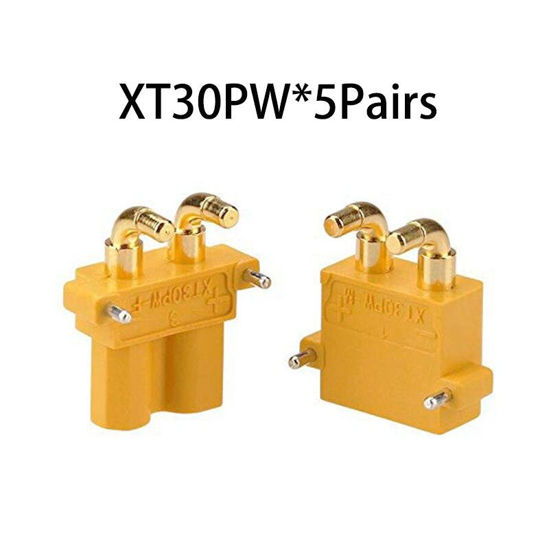 Коннектор AMASS 10 шт. XT60 XT-60 XT 60 XT90 XT60H XT60L XT60U XT60PW XT30U XT90S T Дин EC3 EC5 AS150 XT150 XT30PW XT90PW для Lipo Батарея - Цвет: XT30PW