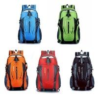 Heißer 35L Große Wasserdicht Klettern Wandern Rucksack Tasche Camping Bergsteigen Rucksack Sport Im Freien Fahrrad Tasche|Klettern Taschen|Sport und Unterhaltung -