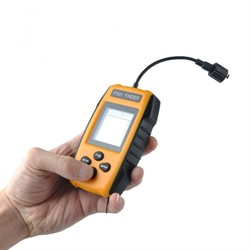 Sonar fish finderup to Detection School of Fish Ultrasonic Maker Portable Sonar LCD Fishing Tools Echo Sounder Colorful Screen