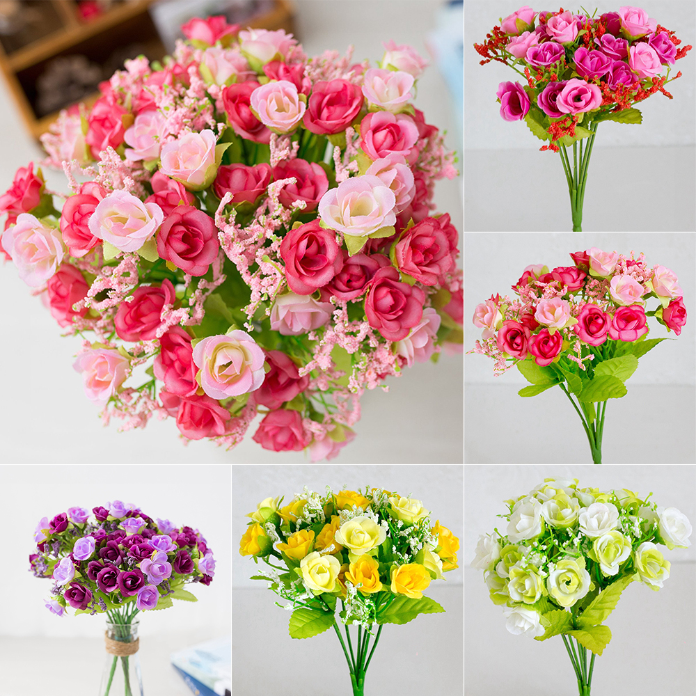 Best Offers Small Fake Bouquet Ideas And Get Free Shipping A290