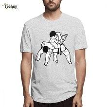 Mans Custom Kisspng jujutsu techniques brazilian jiu jitsu judo T-shirt For Man Funny 3D Print Boy Pure Cotton T-Shirt