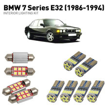 Led interior lights For BMW 7 series e32 1986-1994 23pc Led Lights For Cars lighting kit automotive bulbs Canbus Error Free 6 1pcs free shipping white led lights lamps kit 2835 smd canbus error free for bmw 7 series 1994 2001 for bmw e38 740i 84