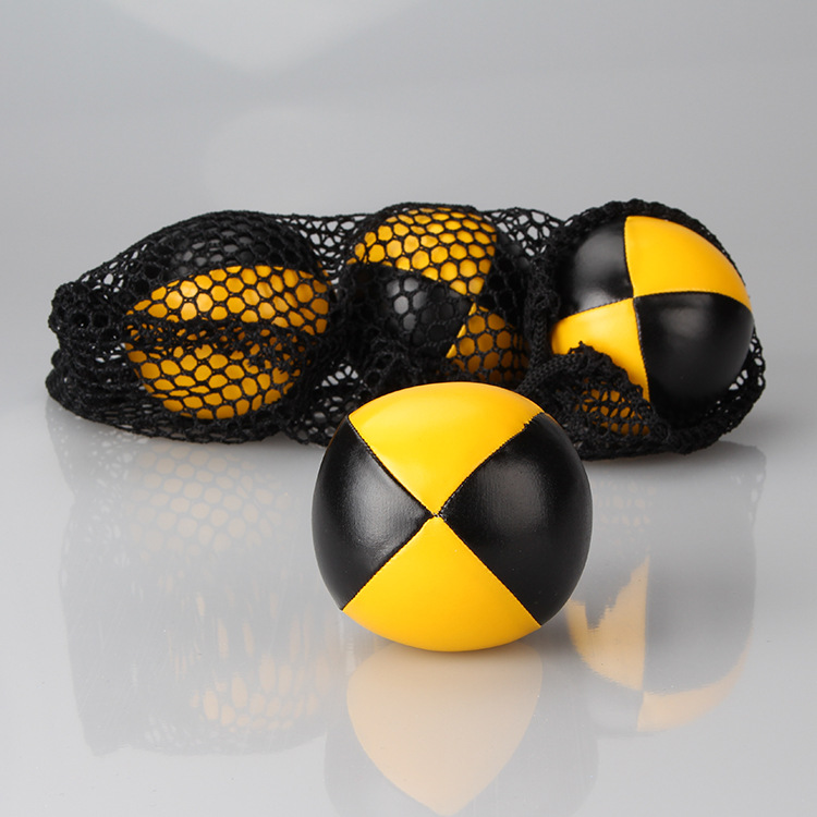 High-end Pu Juggling Balls Filled Particle Sphere Clown Hand-Tossed Acrobatics Performance Toy Ball