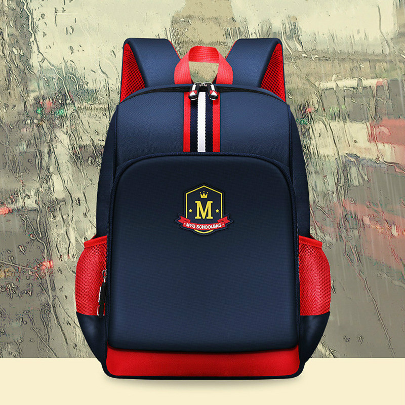 Pupil Students Children England Style Backpack School Bags For Boys Bagpack Mochila Escolar Hombre Waterproof Backpacks Kids Bag