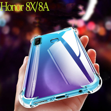For honor 8x 8a case Full Protection Soft Clear TPU Silicone Cases huawei honor 8 x Crystal Phone Case huawei honor 8a cover for honor 9 huawei honor 9 lite case full protection soft clear tpu silicone cases honor 9x crystal phone case honor 9 x cover