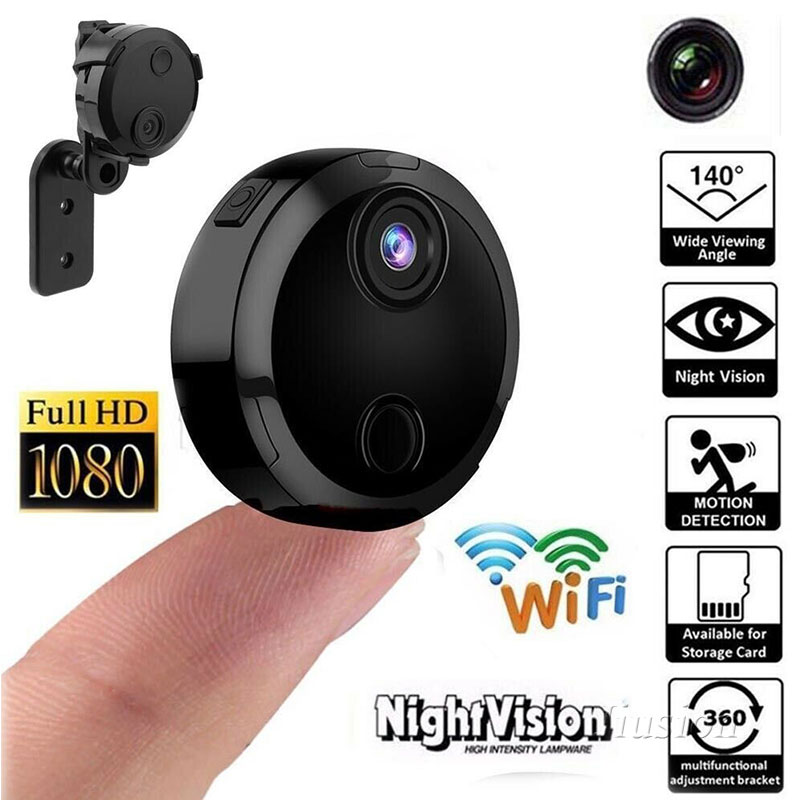 HD DVR Nanny Camera Night Vision Motion Activated 720p Cam Remote