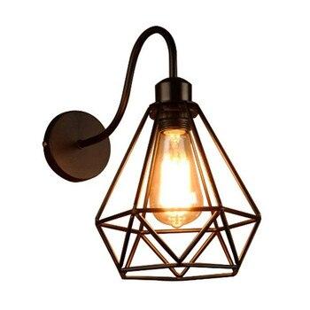 Светодиодный настенный светильник для спальни в стиле ретро, настенный светильник для кофейного ресторана, креативный настенный светильни...