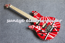 цена на Custom Shop Left Handed Guitar Electric Wolfgang EVH Style Electric Guitar China Custom Guitar Kit Available
