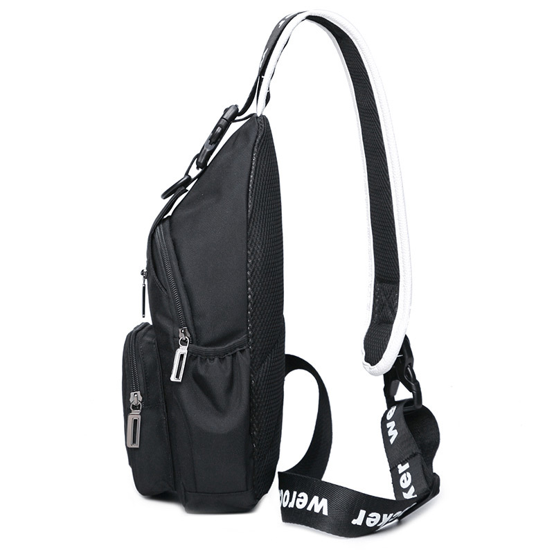 Men's Chest Pack Casual Haversack Rides Luggage Women's Shoulder Bag Fashion Man Outdoor Bag