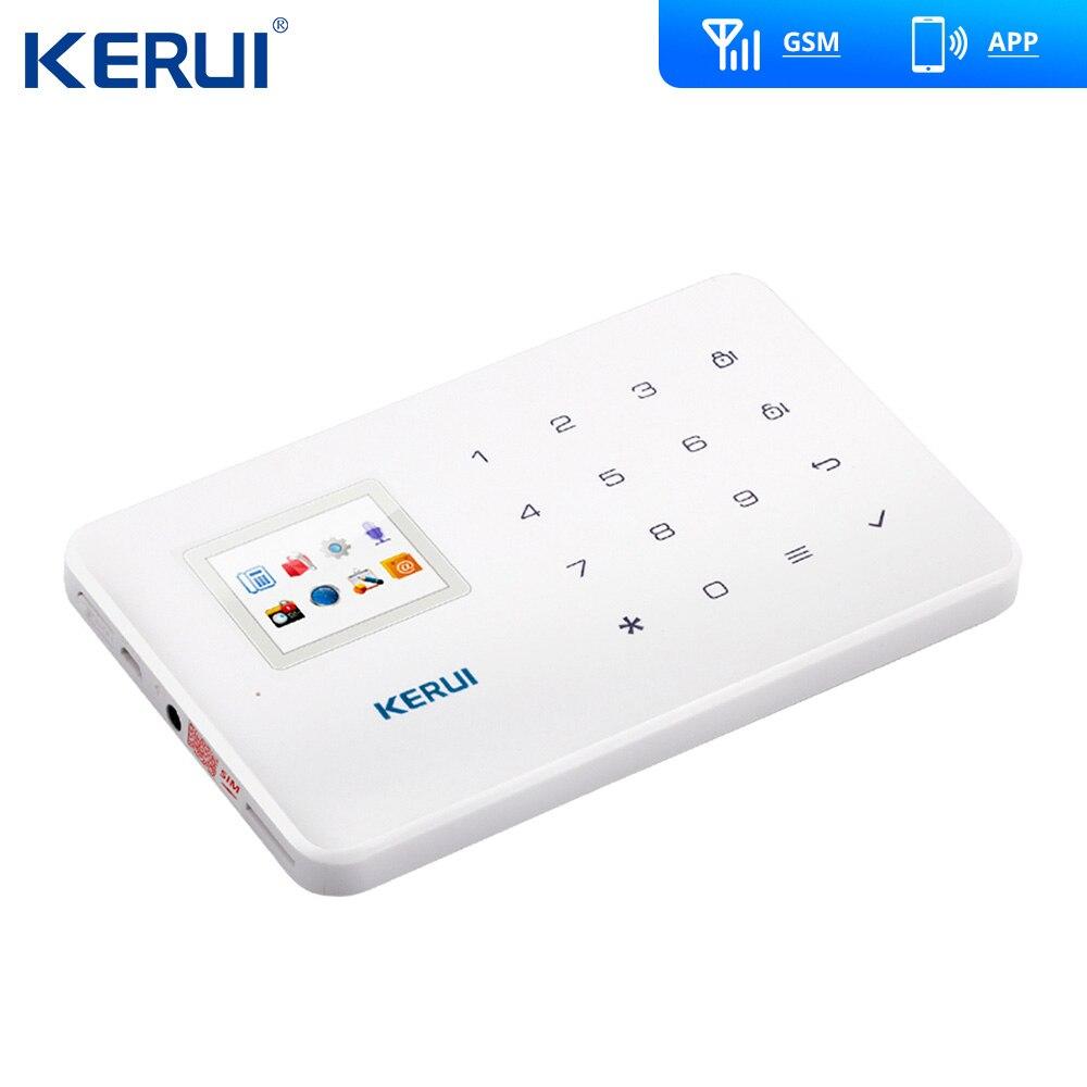Kerui G18 GSM Alarm System TFT Android IOS APP Touch tastatur Android ISO App Smart Home Einbrecher Alarm System DIY motion Sensor