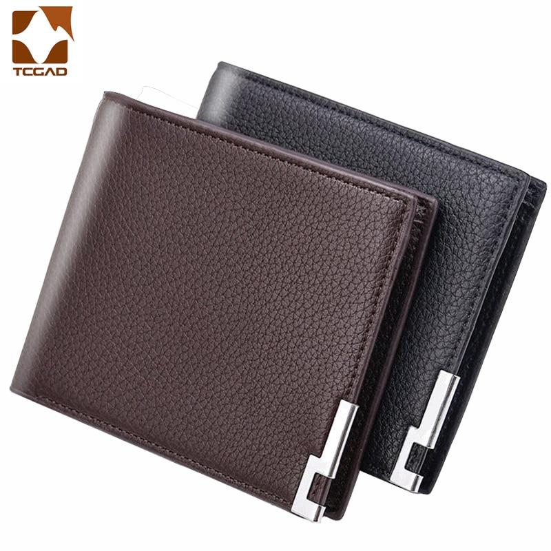 Men's Wallet Slim Billetera Hombre Erkek Cuzdan Small Purses Porte Feuille Homme Male Portman Carteira Masculina Wallet Men 2019