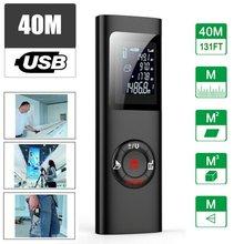 Портативный цифровой лазерный дальномер 40 м Многофункциональный