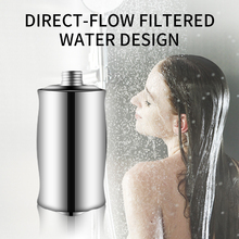 304 Stainless Steel Water Shower Filter Hotel Spa Household Mineral Stone Bathroom Shower Filter