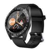 Relógio inteligente gt105 à prova dwaterproof água esporte relógios para homem mulher monitor de freqüência cardíaca para andriod ios telefone reloj inteligente