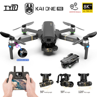 KAI ONE Pro/Max GPS Drone 8K HD Dual Kamera Drei-achsen gimbal Bürstenlosen Motor Mit 5G Wifi Quadcopter Rc Abstand 1,2 km Geschenke
