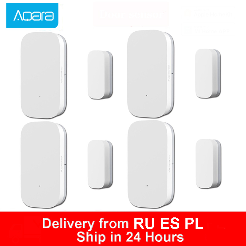 Aqara Door Window Sensor Zigbee Wireless Connection Smart Mini Door Sensor Work With Mijia Gateway MiHome Homekit Smart Home Kit