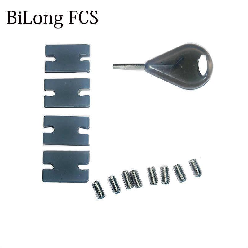 サーフ FCS II 互換性キットタブインフィルキット FCSII タブインフィル用 FCS II フィンボックス FCS キー Grub サーフボードフィンネジ