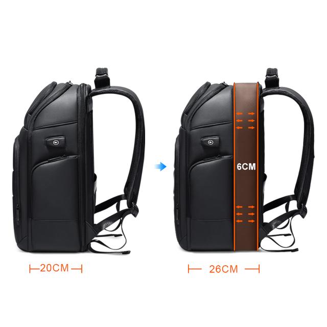 Multifunction Men Backpack USB Charging  Wateproof Backpack Male 15.6 Inch Laptop Bag Business Large Capacity Travel Bag