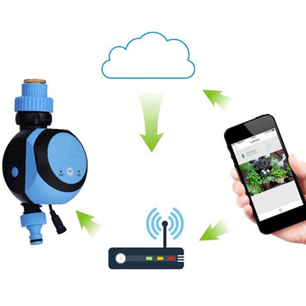 1PC Smart Automatische Bewässerung Controller Fernbedienung Bewässerung Timer Bewässerung Controller mit EU Stecker Sky-Blau