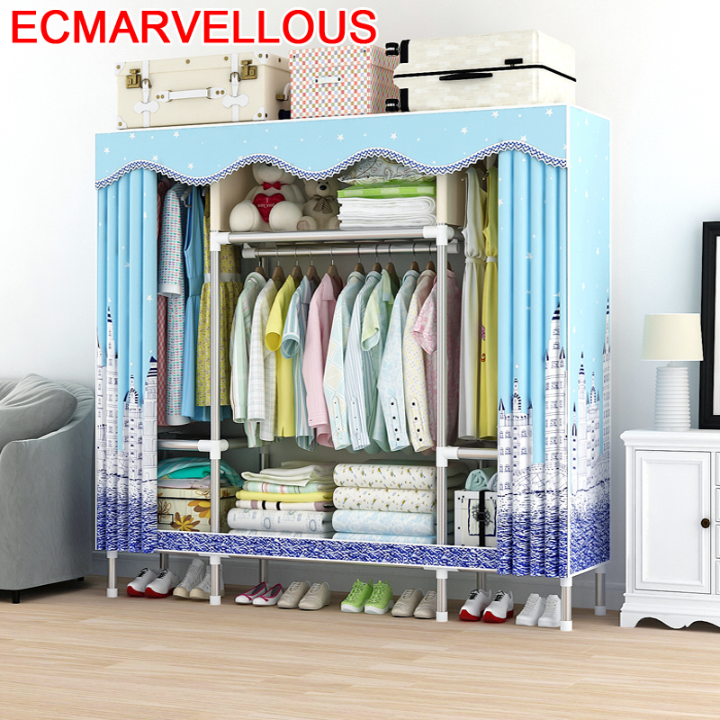 Garderobe Armario Tela Penderie Rangement Dresser For Armoire Chambre Bedroom Furniture De Dormitorio font b Closet