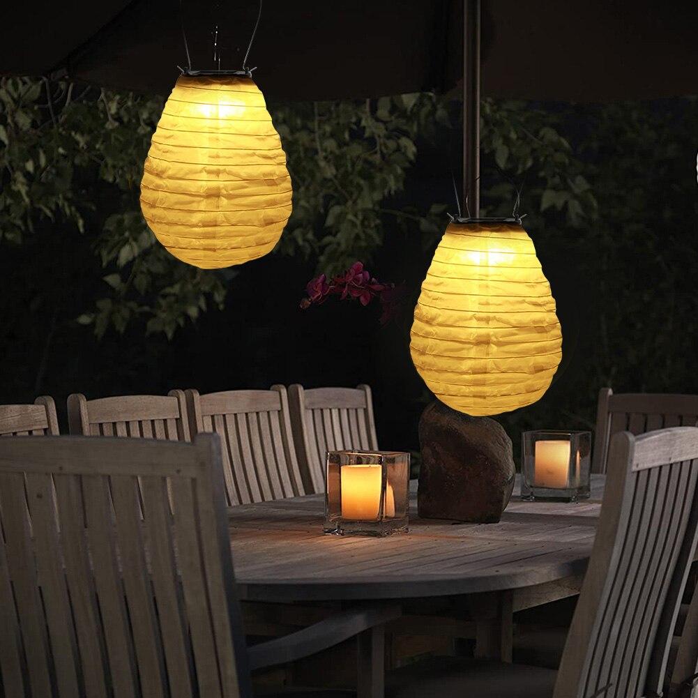 8 Inch Solar Led Lantern Klasik Tekstur Halus Desain Taman Outdoor Tahan Air Hang Cina Lampu Lampu Surya Aliexpress