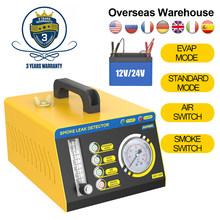 AUTOOL SDT208 Auto Rauch Generator Pipeline Leck Tester Detektor 4 In 1 EVAP Air Modus Fahrzeug Auspuff Kühlsystem Leckage
