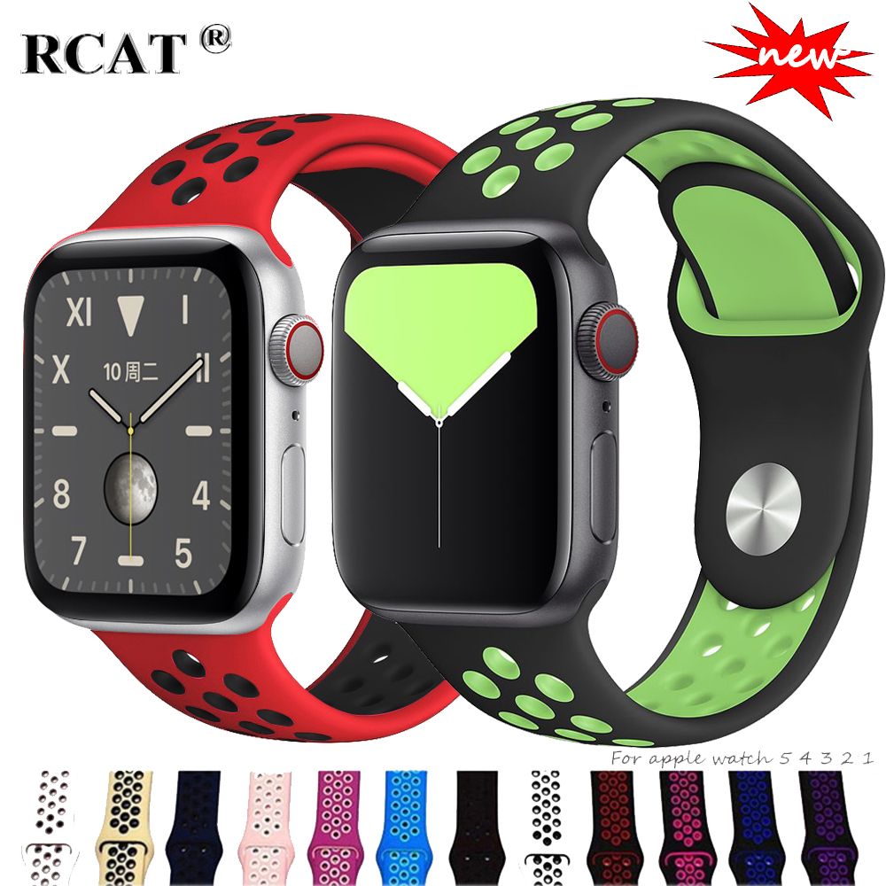 Sport Strap For Apple Watch 5 Band 44mm/40mm Apple Watch 5 4 3 Band Iwatch Band 42mm/38mm Correa Bracelet Belt Watch Accessories