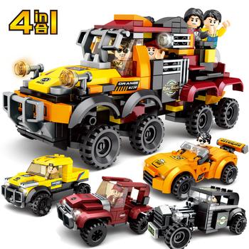 Model samochodu bloki kompatybilne klocki prędkość samochód sportowy Technic samochód wyścigowy Super Racers figurki klocki klocki zabawki dla dzieci tanie i dobre opinie kidsmore 5-7 lat 8 ~ 13 Lat 14Y Transport Ciężarówki Fantasy i sci-fi toys for children toys for kids Z tworzywa sztucznego