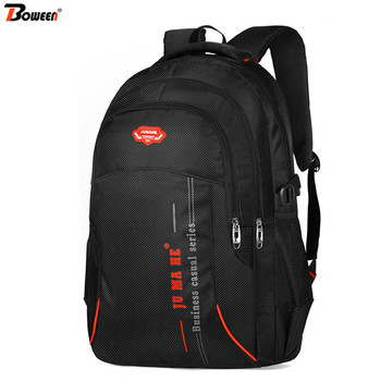 Large Capacity Usb Waterproof Backpack Men Laptop Back Pack School Bags High Schoolbag Students Bagpack for Teenage Backbag Male fashionable backpack for men pu waterproof backpack for high school students campus schoolbags large capacity computer
